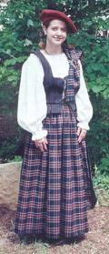 2-piece Highland Dress